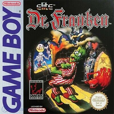 Nintendo GameBoy game - Dr. Franken boxed
