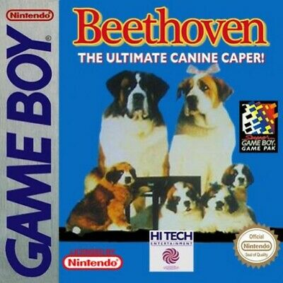 Nintendo GameBoy game - Beethoven cartridge
