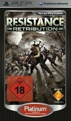 Sony PSP / Playstation Portable game - Resistance game - Retribution only UMD