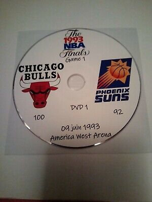 NBA Finals 1993 Michael Jordan Chicago Bulls vs Phoenix Suns en VO