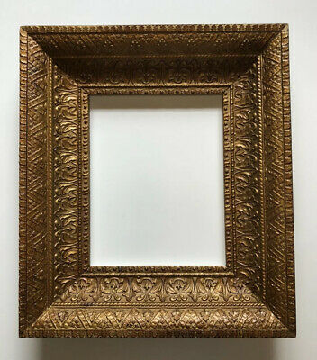 """Beautiful, Ornate, Highly Detailed Antique Gold Frame - Holds 8""""x 10"""" Image"""