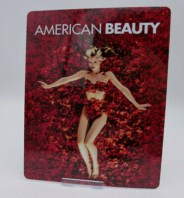 AMERICAN BEAUTY - Glossy Bluray Steelbook Magnet Magnetic Cover (NOT LENTICULAR)