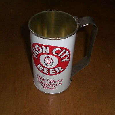 Iron City Beer Can Mug - Vintage