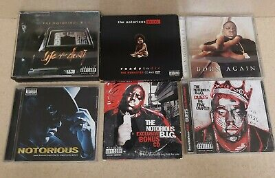 Lot Of 6 THE NOTORIOUS B.I.G. -  Life After Death & Ready To Die, and more!