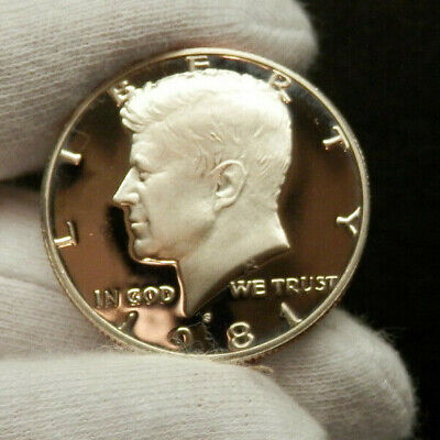 Cameo Proof1981-S Type 2 Kennedy Half Dollar  Perfect Coin ***Make An Offer***