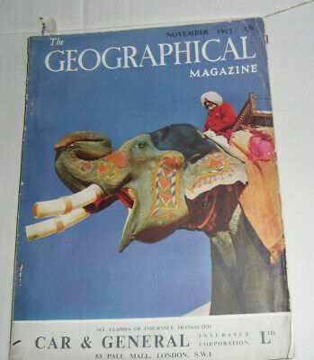 The Geographical Magazine,November1953:Full Page Colour Guinness Advert