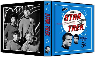 STAR TREK Original Series Custom 3-Ring Binder Album for 1967 Leaf Trading Cards