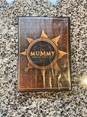 Tested DVD Set - The Mummy Collector's Set - Free Ship