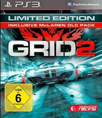 PS3 / Sony Playstation 3 game - Grid 2 #Limited Edition boxed