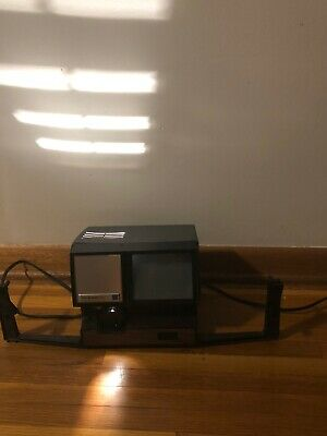 KEYSTONE 250 MOVIE EDITOR VIEWER DUAL 8MM SUPER 8MM As Is