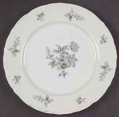 Bohemia Ceramic Works WILD FLOWER (PLATINUM TRIM) Salad Plate 37613