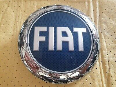 Fiat Front Grille Badge Genuine Used Part 95mm Stilo Punto