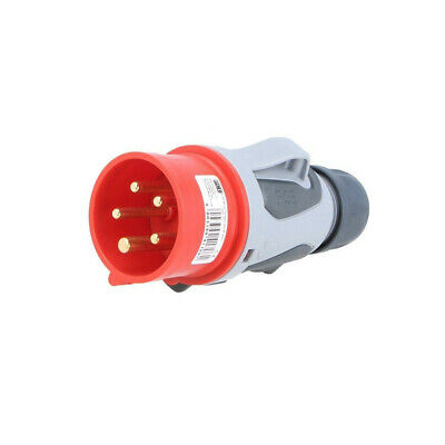 0153-6TT Connector: AC supply 3-phase plug male 16A 400VAC IP44 PIN: 5 PCE