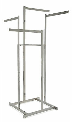 Chrome 4 Way Hi Capacity Rack With Straight Arms