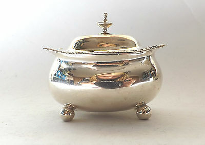 Mustard Pot Georgian Solid Sterling Silver China Oriental Revival 1809
