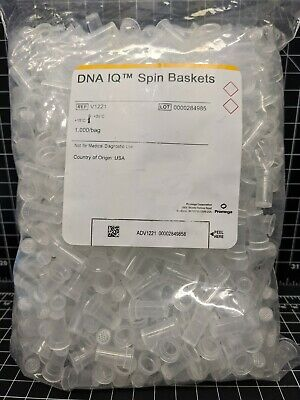 Promega DNA IQ Spin Baskets V1221 V1225 PCR Maxwell centrifuge filter V4745 lab