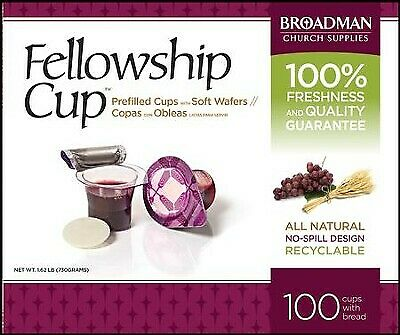 Fellowship Prefilled Communion Cups 100 ct