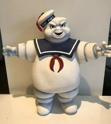 Large-NECA GHOSTBUSTERS STAY PUFT marshmallow man action figure SERIES 1 rare
