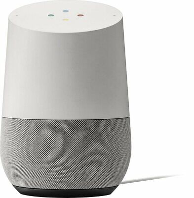 Google Home Smart Speaker - Personal Voice Assistant (White Slate)