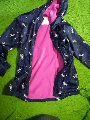 Girl unicorn Rain coat. Age 12. Girl. Used But In Very Good Condition