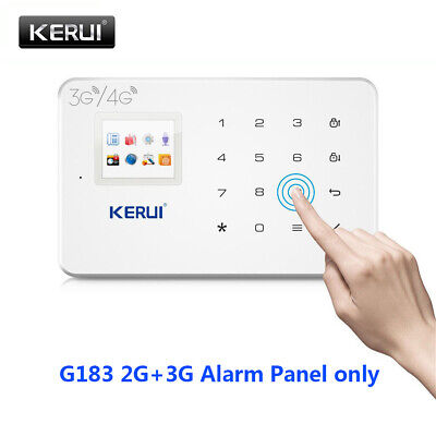 KERUI White G183 3G Wireless GSM  Home Security Alarm System APP Control