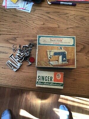 Vintage Singer Blind Stitch, accessories Cams, parts