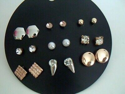 Lot 9 Paires Boucles d'Oreille -fashion-NO 4