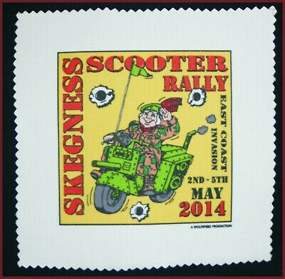 Skegness Virtual Scooter Rally Kids Tee Help Save The NHS