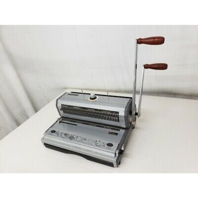 Akiles WireMac 3:1 Manual Combo Double Loop Wire Binding Machine
