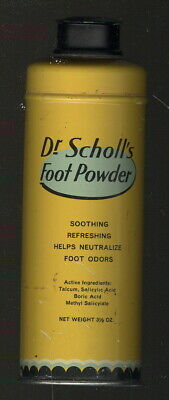 1940S Dr Scholls Foot Powder Tin