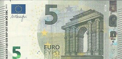 5 Euro Banknote Circulated Legal Tender 2013
