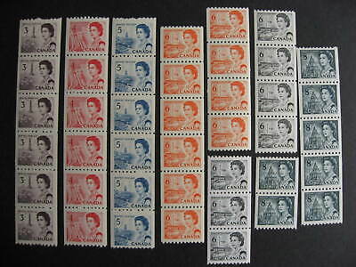 Canada centennial MNH coil strips check these out!