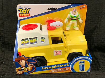 Fisher Price Disney Toy Story 4 Buzz Lightyear And Pizza Planet Truck