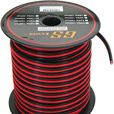 100FT 12-2 AWG Gauge Electrical Wire,Low Voltage for Landscape Lighting ,Audio