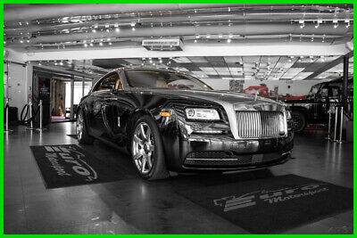 2014 Rolls-Royce Wraith WRAITH BLK OVER TANN HYDES ABSOLUTELY STUNNING LOADED WITH OPTIONS ONLY 7K MILES!!!