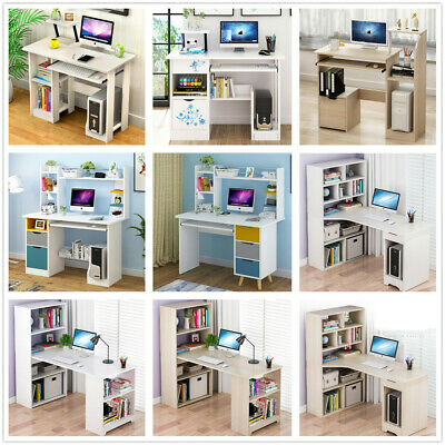 Computer Desk PC Study Writing Table Office Youth Students Workstation Furniture