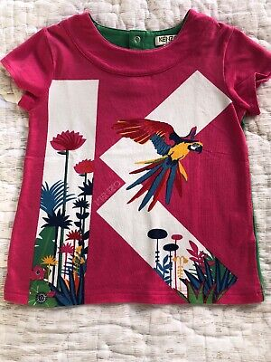 Kenzo Kids Colourful Top Size 6 Years Old Girls