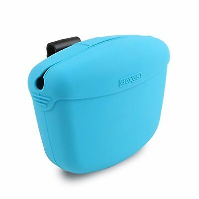 Dexas Popware for Pets Pooch Pouch Blue   Memory Silicone   For Dogs