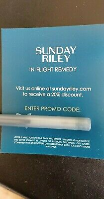 Sunday Riley 20% discount coupon  expires Feb 1 2021