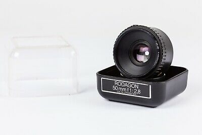 Rodenstock Rodagon 50mm f2.8 enlarging lens. Late Pre-Set Aperture Version Exc++