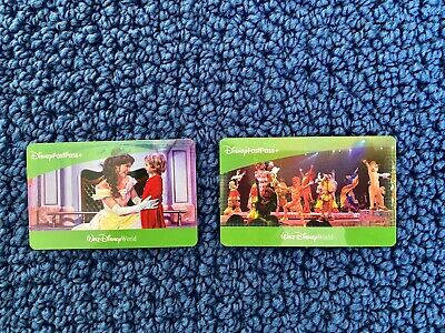 Two (2) Disney World One (1) Day Park Hopper Fast Pass Tix (Good Until 06/25/21)