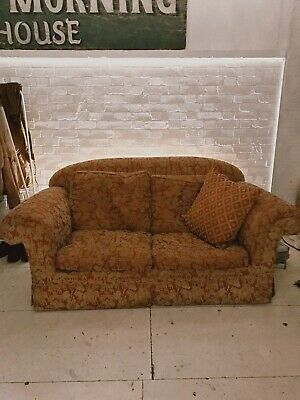 Fabulous Edwardian Two Seater Sofa with one Armchair