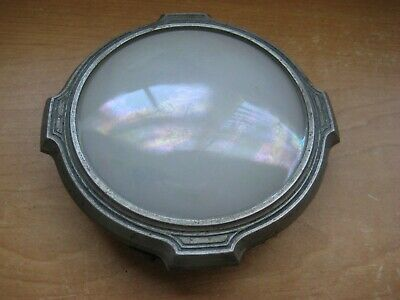 Vintage - Antique Art Nouveau / Automotive Interior Light