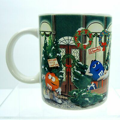 M&M's Candy Christmas Coffee Mug ~ 10oz