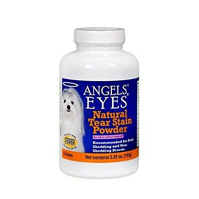 Angel's Eyes Natural Tear Stain Powder Supplements, 5.29 oz Chicken (2 Pack)