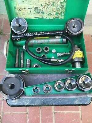 greenlee#7646 hydraulic knockout punch driver set