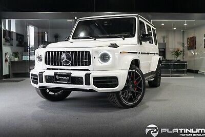 Mercedes-Benz: G-Class AMG G63 2019 MERCEDES G63 AMG! LOW MILES! LIKE BRAND NEW! FULLY LOADED! WHITE ON WHITE!