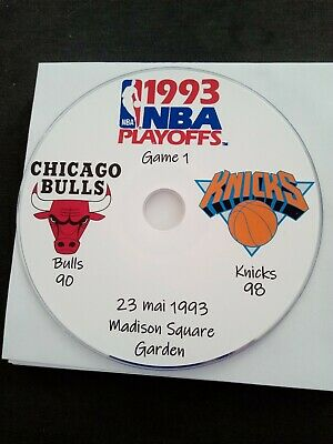 NBA Playoffs 1993 DVD Michael Jordan Bulls vs Knicks
