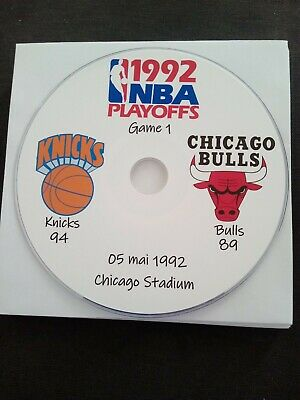 NBA Playoffs 1992 DVD Michael Jordan Bulls vs Knicks