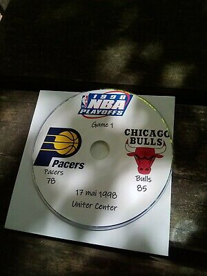 NBA Playoffs 1998 DVD Michael Jordan Bulls vs Pacers